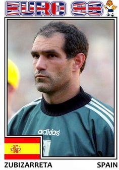 Euro 96, Spain, Football, Baseball Cards, Sports, Soccer, Hs Sports, Futbol, Sevilla Spain
