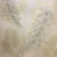 Arthouse Sirius Wallpaper - Gold 673601 An elegant feather design with textured gold feathers with gold glitter highlights on a smooth metallic gold background. Feather Wallpaper, Wallpaper Uk, Metallic Wallpaper, Modern Wallpaper, Geometric Wallpaper, Copper Art, Glitter Background, Feather Design, Leaf Art