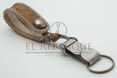 Llavero mosquetón de cuero crudo Wordpress, Personalized Items, Key Rings, Presents