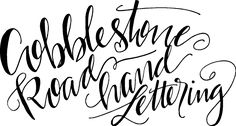 Taking the words that are important to you and making them beautiful. Cobblestone Road Hand Lettering; met them at Country Living Fair Sept 2016 Columbus, Ohio