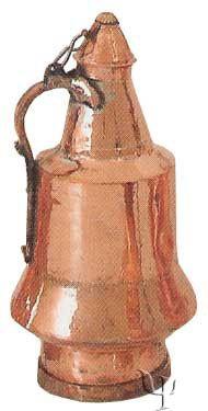 Turkish Copper Kayseri Water Jug