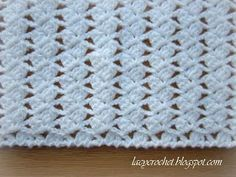 Lacy Crochet: Lacy Braids Baby Blanket