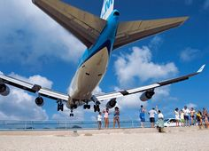 St. Maarten-this is the airport I flew into. The planes come in sooo low. We loved sitting at Sunset Beach Bar watching all of the planes coming in our last day on island
