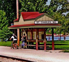 Katy Trail St Charles MO