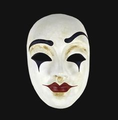 Stage Makeup Experiments: Whitefaced Clown References