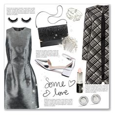 """""""Be fabulous"""" by dressedbyrose ❤ liked on Polyvore featuring Iris & Ink, Ellen Tracy, H&M, Alexis Bittar, David Yurman, Boohoo and Wedding Belles New York"""