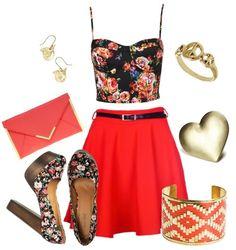 Este outfit esta muy fresco y muy bonito para un dia de verano que les parece ?