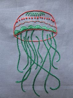 Deshilachado: Un patrón de bordado de regalo / Free embroidery p...