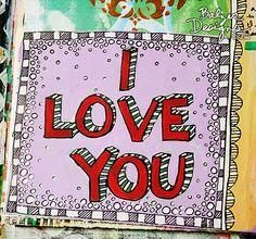 I love you page by Julie Fei-Fan Balzer