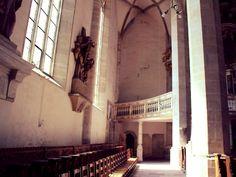 Domrundgang. Rechts hinten die gigantische Orgel. Das Bild stammt aus 2014 :-) #diewocheaufinstagram #ausflug #momentaufnahme #altstadt #merseburgerdom #kirche #church