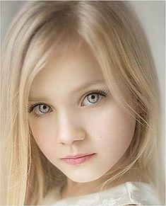 Cute Little Baby Girl, Little Girl Models, Beautiful Little Girls, Baby Blonde Hair, Close Up Faces, Red Hair Woman, Kristina Pimenova, Most Beautiful Eyes, Kids Swimwear