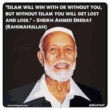 Biografi Syekh Ahmed Deedat. untuk selengkapnya silahkan di klik link http://mydailyislamic.blogspot.co.id/2016/01/biografi-syekh-ahmed-deedat.html