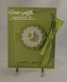 Top Note gift card holder video ..  http://dawnsstampingthoughts.typepad.com/dawns_stampin_studio/