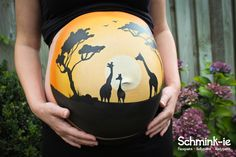 africa belly painting Bump Painting, King Painting, Rock Painting, Pregnant Belly Painting, Belly Art, Beautiful Pregnancy, Face Painting Designs, Cute Baby Pictures, Maternity Pictures