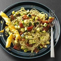 Zippy Zucchini Pasta Recipe from Taste of Home