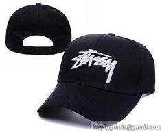 Stussy Adjustable Hats Black 52943f7bd39b