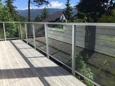 Interior Railings Vancouver - Aluminum Guardrail & Handrails (Commercial / Residential) - Metro Vancouver Railings Glass Stair Balustrade, Vancouver, Interior Railings, Glass Stairs, Modern Glass, Commercial, Outdoor Decor, Home Decor, Staircases