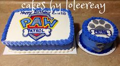 PAW PATROL Cake with Matching Smash cake | PAW PATROL Cake m… | Flickr