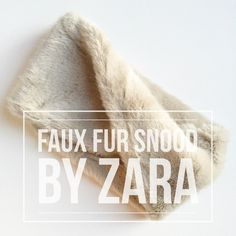 Faix Fur Snood by Zara - NWT New w/tags faux fur crossover snood from Zara! Luxurious fur all around, with a twist for easy styling, 83% modacryl 17% polyester. Style 2212/205/802 for reference, sold out on Zara online. Need to recoup my expense so listed price reflects my cost after Posh fees, thank you for understanding... *PRICE FIRM UNLESS BUNDLED* Zara Accessories Scarves & Wraps