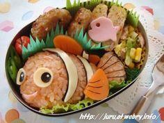 Bento Inspiration: Finding Nemo | http://www.lifemarklabs.com