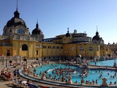 The Budapest Baths: Our Guide to the Széchenyi Fürdő