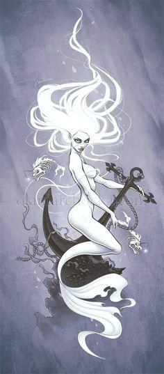 Albino Mermaid