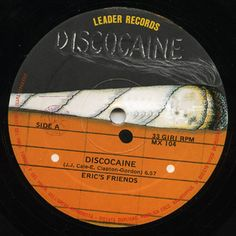 """Eric's Friends - Discocaine: buy 12"""" at Discogs"""