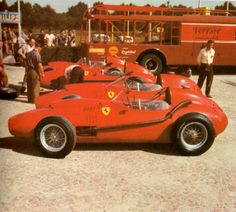Transporteur Ferrari GP Italie 1958
