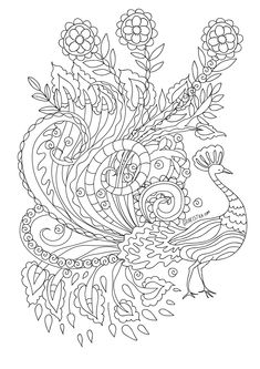 antistress coloring, zentangle designs, zentangle coloring pages, mandala coloring Cute Coloring Pages, Mandala Coloring Pages, Animal Coloring Pages, Adult Coloring Pages, Coloring Books, Mandala Painting, Pretty Designs, Son Luna, Bird Drawings