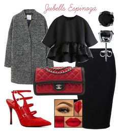 """Outfit by Jubells Espinoza"" by jubells-espinoza on Polyvore featuring Miss Selfridge, MANGO, ALDO, Victoria's Secret, Chanel and BERRICLE"