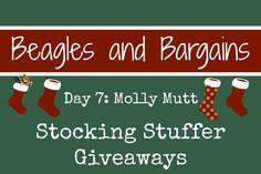 Stocking Stuffer Giveaway Day 7: Molly Mutt #sponsored | http://www.beaglesandbargains.com/stocking-stuffer-giveaways-molly-mutt/