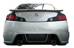 2003-2007 Infiniti G Coupe G35 Duraflex R35 Rear Bumper Cover - 1 Piece