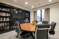 International Bank, Berkeley Square, Conference Room, Study, Table, House, Furniture, Home Decor, Studio