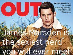 James Marsden portada de la revista OUT ~ ActorsZone