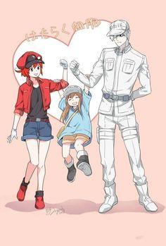 Manga Anime, Me Anime, Anime Love, Anime Guys, Anime Art, Cute Characters, Anime Characters, White Blood Cells, Manga Games
