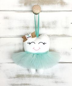 This is the original tooth fairy pillow, complete with fancy tutu, now with a new UNICORN GLITTER BOW but if you prefer it without the unicorn there are other versions available in my shop. This version here can be made with any colour tutu. A gorgeous keepsake for a new baby, #UnicornPillow