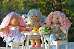 Adorable waldorf dolls. #Etsy #Waldorf #Handmade
