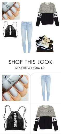 Career Ready by diovion-doakes on Polyvore featuring Paige Denim, NIKE, women's clothing, women's fashion, women, female, woman, misses and juniors