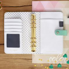 Personal Binder Only • Mint Color Crush Webster's Pages