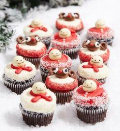 「ローラズ・カップケーキ」からクリスマスカップケーキ