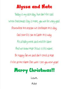 Goodbye Letter from the Elf on a Shelf | Pinterest | Elves