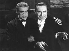 The Raven - Boris Karloff, Bela Lugosi 1935 Universal