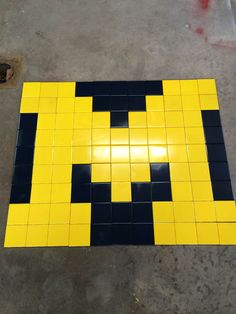 Michigan Wolverines Tile Wall Mosaic  An interesting idea for a die hard wolverine fan, or man cave!  Found here!  https://www.etsy.com/listing/176359291/michigan-wolverines-tile-wall-mosaic?ref=listing-shop-header-0