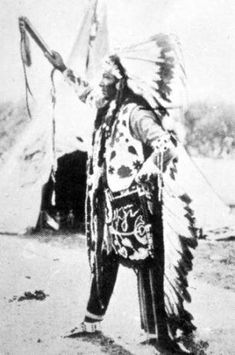 Nez Perce Chief White Bird. American Indians Of The Pacific Northwest.