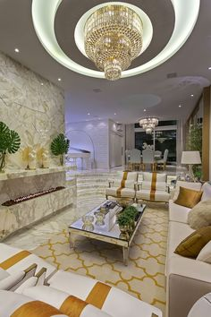 Casa Real: Salas de estar por Designer de Interiores e Paisagista Iara Kílaris Casa Real, Living Room Interior, Living Room Decor, Decor Interior Design, Interior Decorating, Pantry Design, False Ceiling Design, Modern Fireplace, Interior Exterior