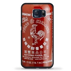 sriracha hot sauce brand logo iPhone Samsung Galaxy TPU Rubber Case Protector #TPUCaseDesign