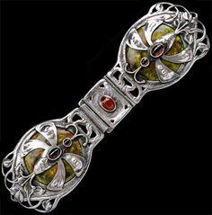 Guild of Handicraft Dragonfly Belt or Cloak Clasp