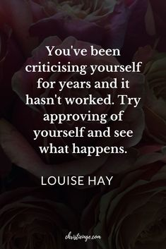 Quotes and inspiration QUOTATION – Image : As the quote says – Description Louise Hay quote about Self Compassion Spiritual Quotes, Wisdom Quotes, Quotes To Live By, Life Quotes, Bitch Quotes, Quotes Quotes, Positive Affirmations, Positive Quotes, Motivational Quotes