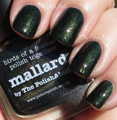 The PolishAholic: piCture pOlish Mallard by The PolishAholic