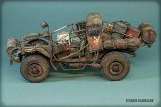 Mad Max by Titagin Vladislav Custom Hot Wheels, Custom Cars, Death Race, Sci Fi Models, Ideias Diy, Ex Machina, Mad Max, Bike Design, Armored Vehicles